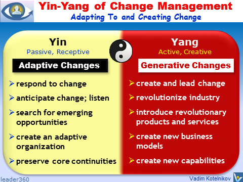 Change Management Yin Yang