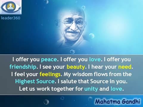 Gandhi Quotes On Love Gorgeous Leadership Quotes Mahatma Gandhi  Great Leaders Quotations