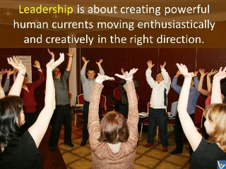 What is leadership quotes, human currents, Vadim Kotelnikov